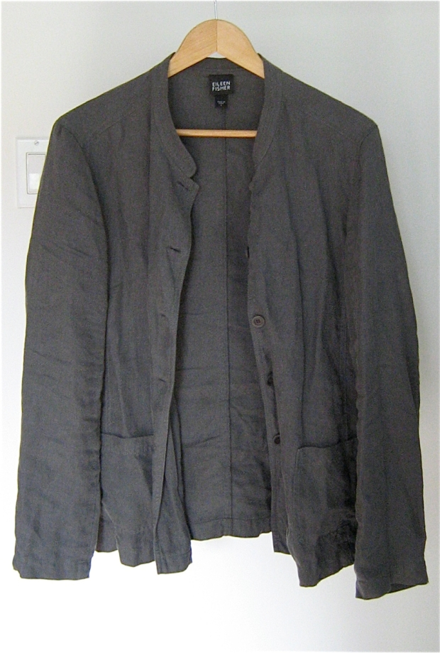 eileen fisher linen jacket 1
