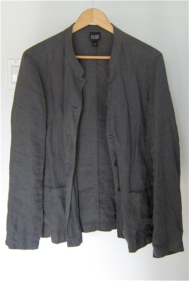 eileen fisher linen jacket 1