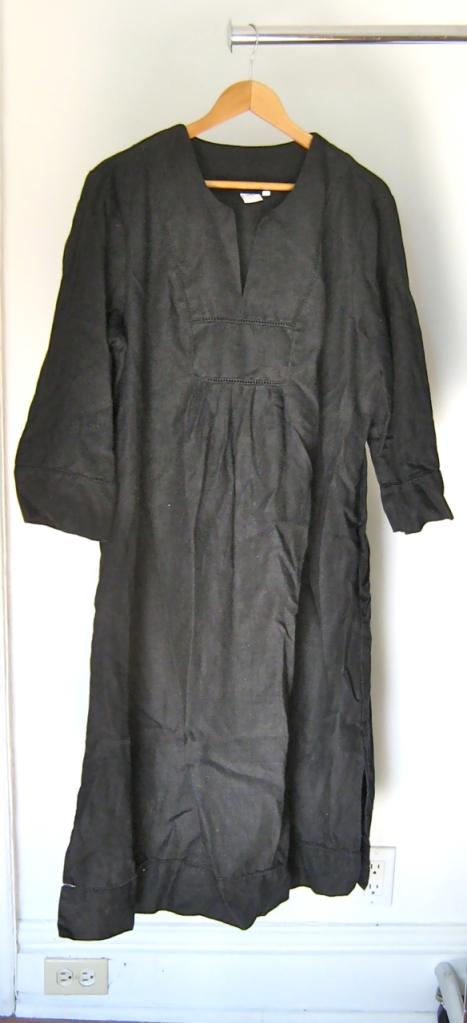 jones new york linen tunic dress