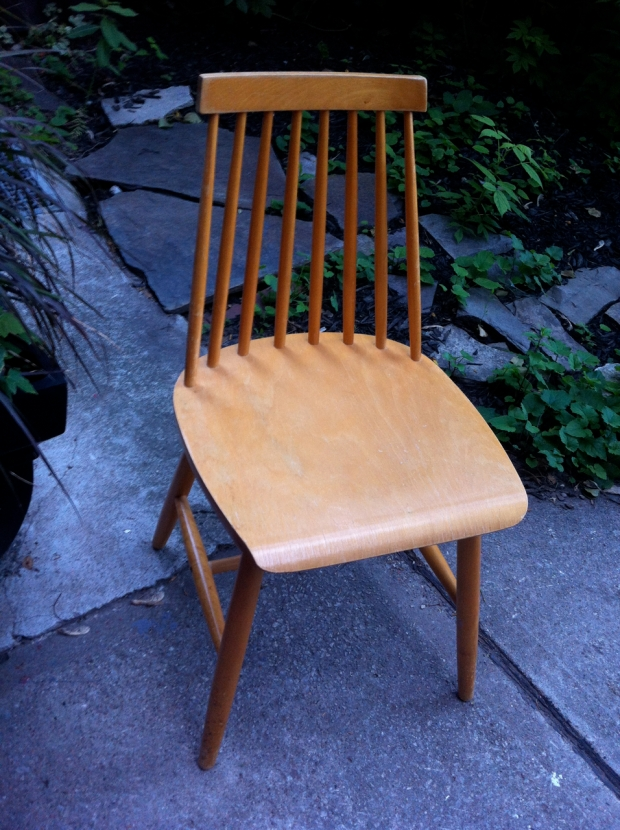found chair