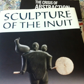 Sculpture of the inuit