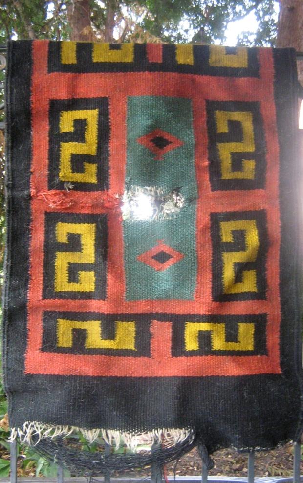 navajo rug repair
