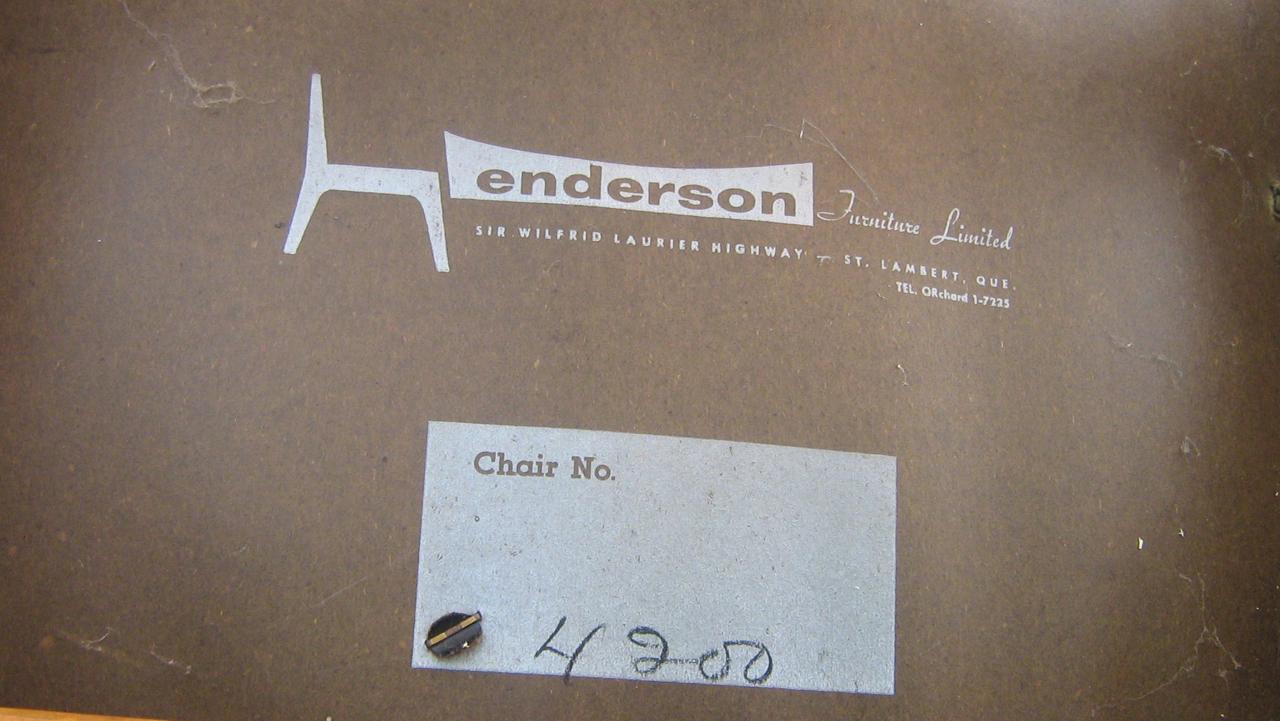 Great Henderson Label