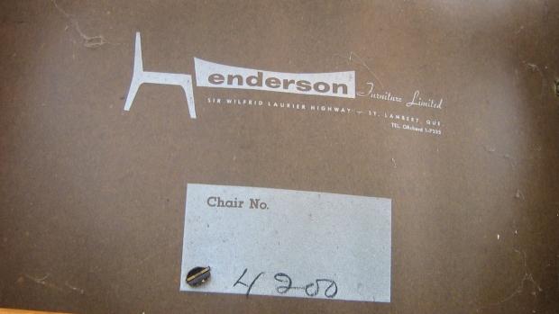 henderson label