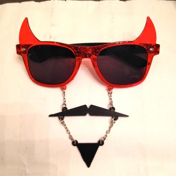 dollarama devil glasses