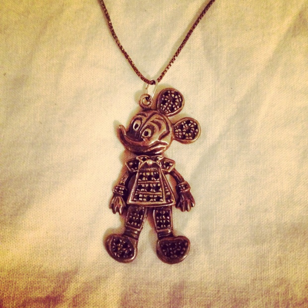 Mickey Mouse articulated pendant