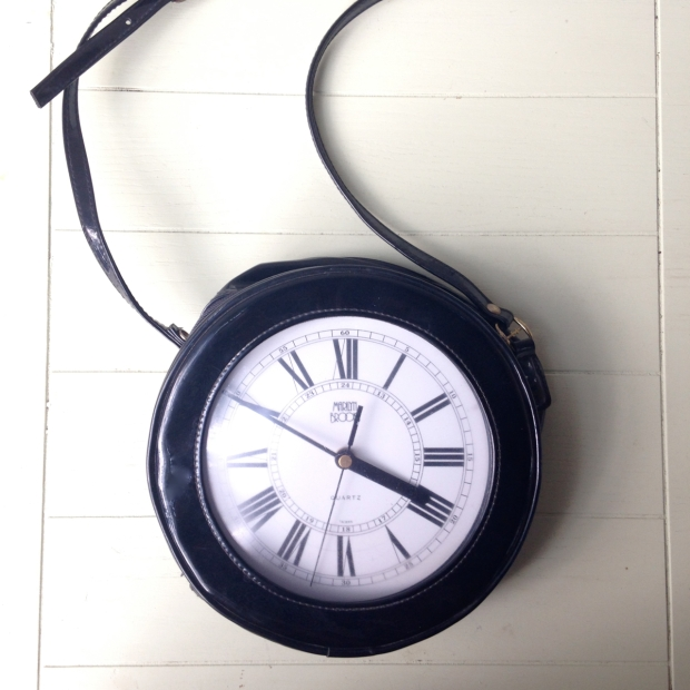 marilyn brooks clock purse