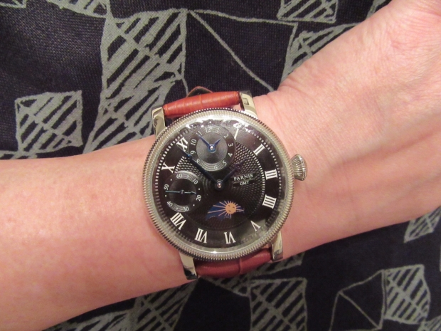 Parnis GMT watch