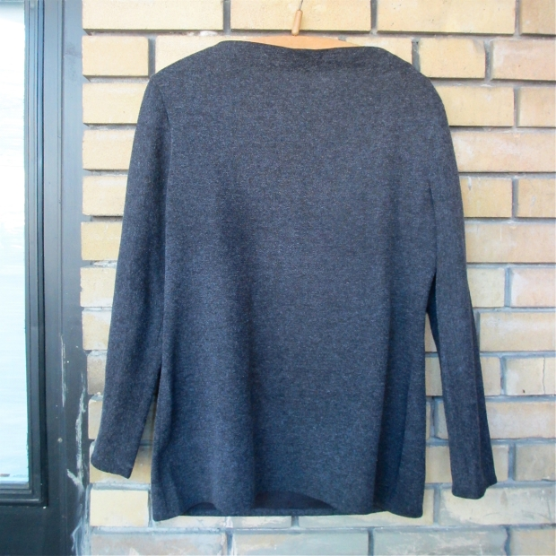 thrift sweater