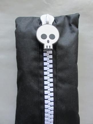 blog skeleton pencil case
