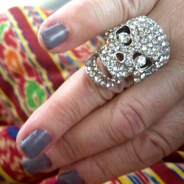 blog skull ring