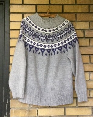 Icelandic knit sweater