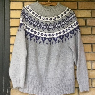 Icelandic knit sweater