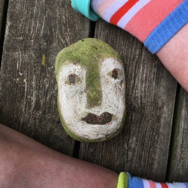 blog arts polychromatic stone face